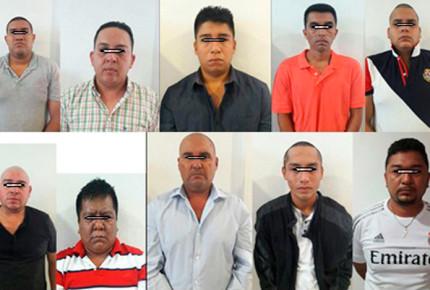 Vinculan a proceso a 10 por asesinato de mandos de PF