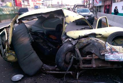 Accidente en vía Morelos deja un muerto