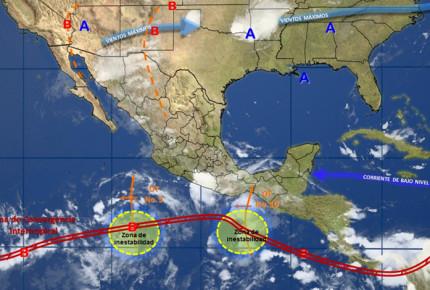 Onda tropical 10 favorecerá tormentas en el país