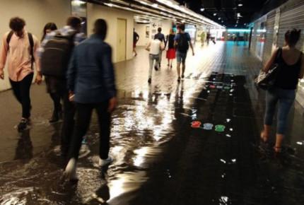 París registró récord de lluvia en una hora