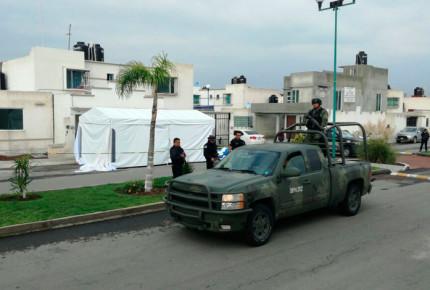 Matan a 11 personas al interior de una casa en Tizayuca