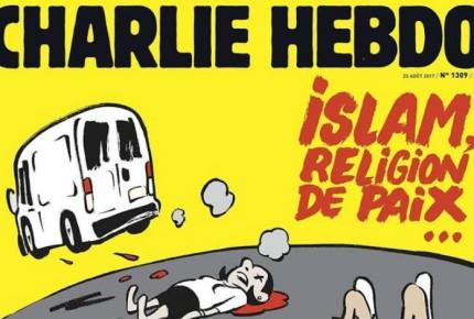 """Tunden a """"Charlie Hebdo"""" por portada de atentado en Barcelona"""