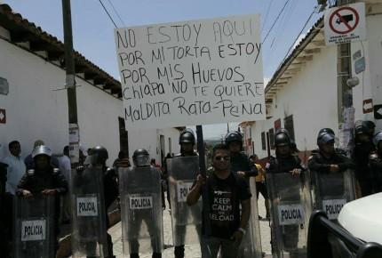 Liberan a 7 agentes de PF retenidos en Chiapa de Corzo