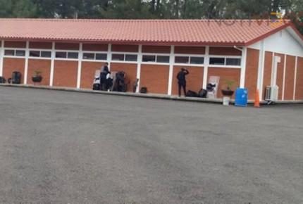 Desmantelan cuartel policial en Michoacán, luego de su apertura