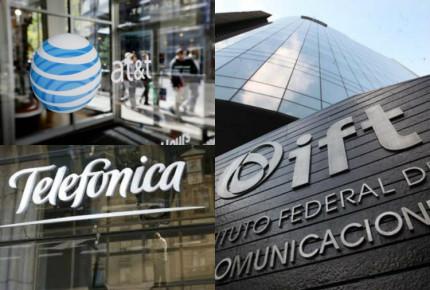 IFT analiza efectos de amparo a Telcel; Telefónica y AT&T, responden