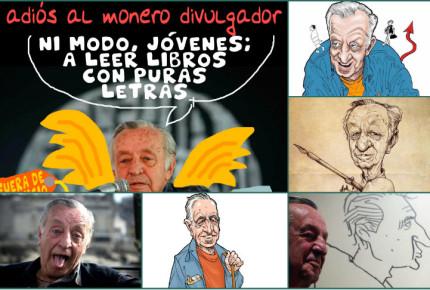 """Moneros y políticos despiden a """"Rius"""""""