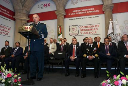 Con o sin marco legal, fuerzas armadas seguirán cerca de la sociedad
