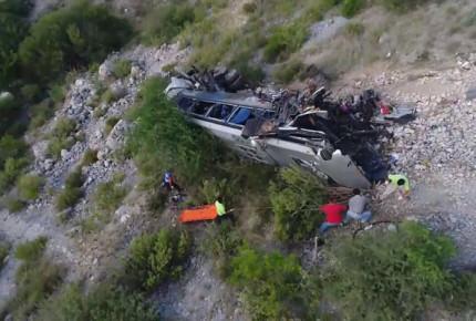 Accidente de autobús en Perú deja 27 mineros muertos