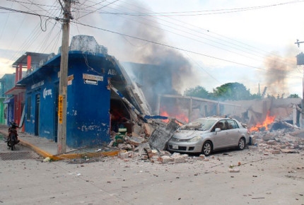Explosión de pirotecnia en Centla deja un herido