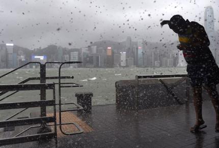 Sube a 16 víctimas por tifón 'Hato' en Macao y Hong Kong
