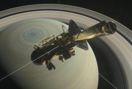 Cassini dice adiós; se desintegró en la atmósfera Saturno