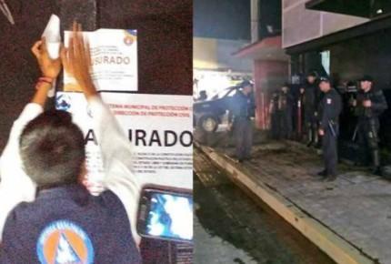 Clausuran bar de donde salió Mara Castilla en Puebla