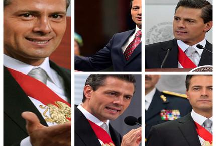 #FOTOS: Los cambios físicos de Peña en sus informes