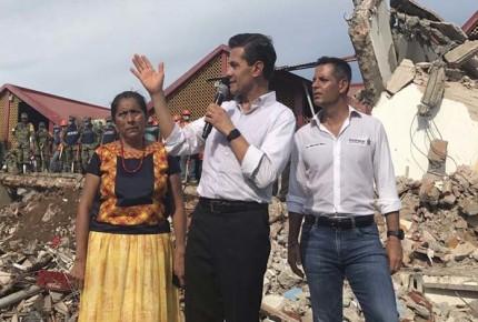 Peña declara 3 días de luto nacional