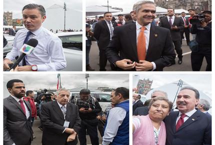 FOTOS: Los que asistieron al V Informe de Peña