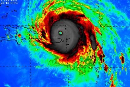 Fuertes vientos azotan Puerto Rico; Irma tocará tierra por la noche