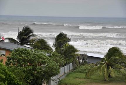 Katia tocó tierra en Veracruz este viernes