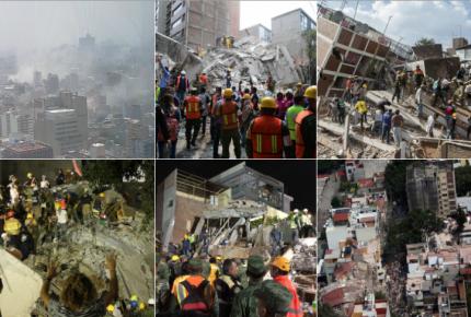 32 años después, terremoto sacude a México; suman 225 muertos
