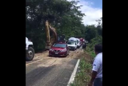 Reanudan circulación en Costa Chica de Guerrero tras paso de Max