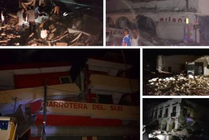 Oaxaca con 45 muertos y más de 7 mil casas dañadas en Juchitán