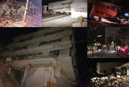 Sismo de 8.2 grados sacude México; suman 61 muertos
