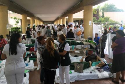 IMSS atendió a 350 heridos tras sismo en CDMX