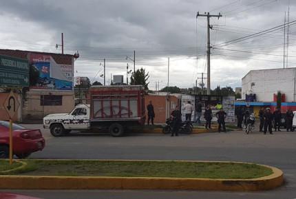 Enfrentamiento con huachicoleros en Puebla deja 3 policías heridos