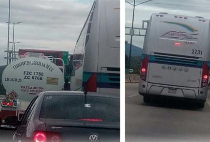 Normalistas retienen camiones y patrulla en Tixtla