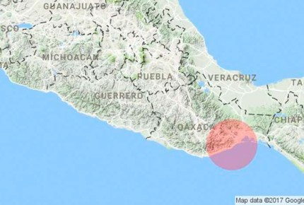 Se registra sismo de 5.5 en Salina Cruz