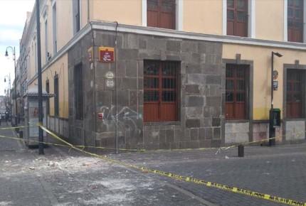 Alumnos de la BUAP ayudan en labores de rescate en Puebla