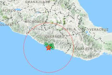 Se registra temblor de 4.2 grados en Guerrero; no se siente en CDMX