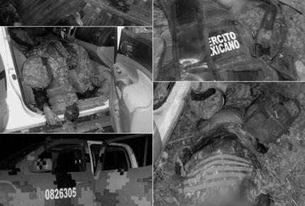 Emboscan a Ejército en Telolopan; abaten a 8 y muere 1