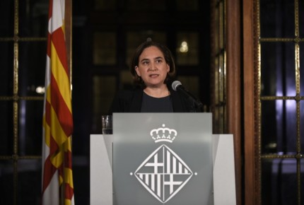 Alcaldesa de Barcelona dice NO a independencia de Cataluña
