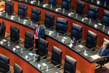 Sin quórum, Senado pospone convocatoria para titular de Fepade