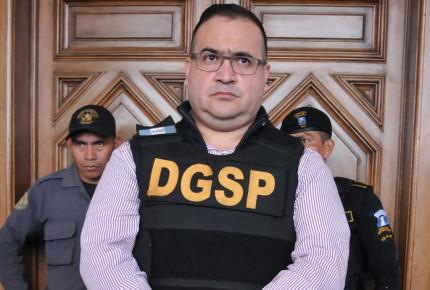 Impugna Javier Duarte pena de 9 años de prisión