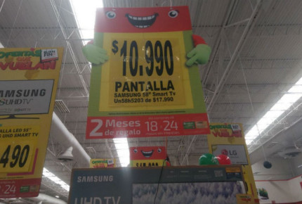 ¡Oferta! Venden pantallas a $10.99 en tienda de Chihuahua
