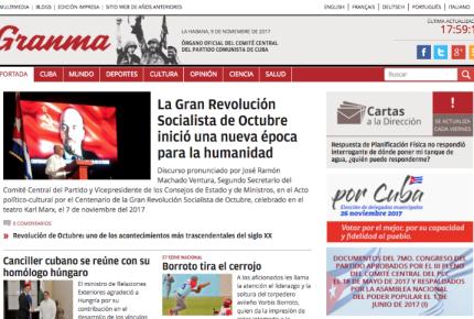 """Despiden al director del diario Granma por """"errores"""""""