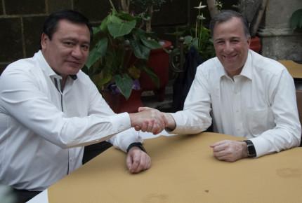 Osorio Chong come con Meade y llama a la unidad