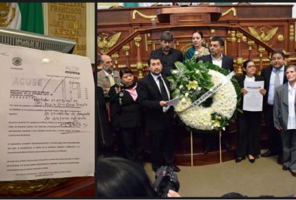 """Morena denuncia Mesa Directiva """"ilegal"""" ante SCJN"""