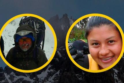 Mueren dos excursionistas al caer del pico más alto de Venezuela