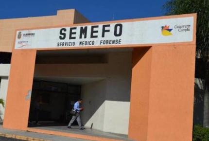 Acusan saturación de cadáveres en Semefo de Guerrero
