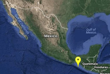 Reportan sismo de magnitud 5.2 en Chiapas