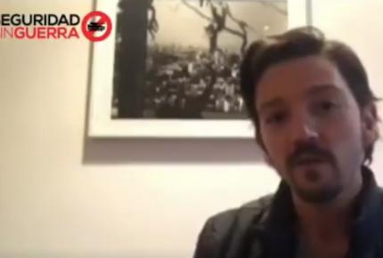 Diego Luna y activistas urgen frenar Ley de Seguridad Interior