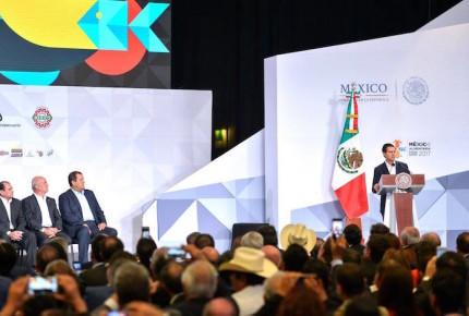 México, en ruta correcta a ser potencia agroalimentaria: Peña