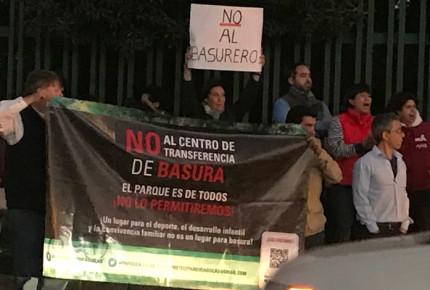 Protestan vecinos contra construcción de basurero en A.Obregón