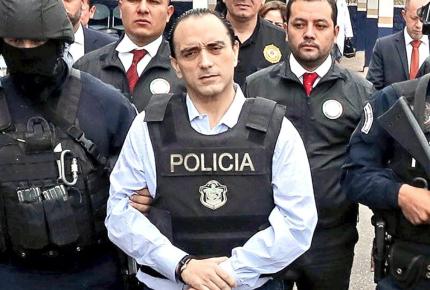 QRoo investiga a 84 colaboradores de Borge; 8 ya están presos