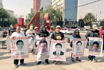 Sin avances ni detenidos, a 40 meses de la desaparición de los 43