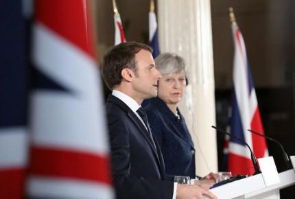 Macron abre la puerta a un acuerdo con Gran Bretaña tras el Brexit