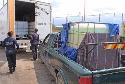 Fuerte golpe a huachicoleros en Puebla
