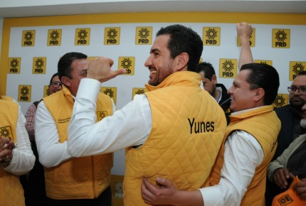 Yunes Márquez se arropa del PRD en Veracruz
